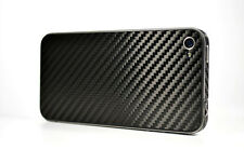 Carbon Fiber Skin Back Cover für Apple iPhone 4 4G UK