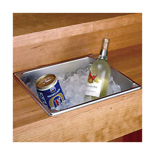 Stainless Steel Dry Sink - 14.25 Qt - Home or Commercial Bar Hand Ice - No Drain