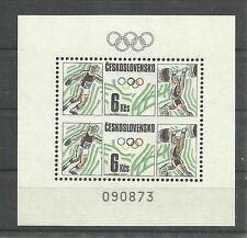 OLYMPIA 1988/ CSSR MiNr Block 76 **