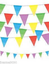 4 M Multicolor Arcoiris Fiesta En La Calle Banderitas Banderas Decoración De