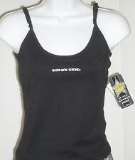 Sports Camisole Cami Black Gold's Gym Gym-Dri XL