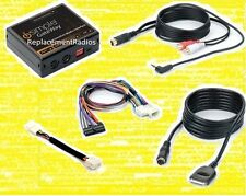 Toyota radio iPod interface +3.5mm aux audio input adapter cable. Text capable