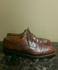 Vintage Veldtschoen By Lotus Grain Leather Cap Toe Dress Shoes Size 10