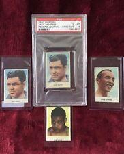 1961 Jack DEMPSEY PSA 6! Swedish Rekord w/ Joe Louis, Jesse Owens, +1 Dempsey!!