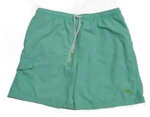 "NWT Tommy Bahama Men's Swimsuit 6"" Trunks  Naples Coast Mint Mojito Size M"