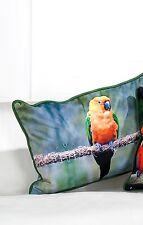 Parte di Gilde PAPPAGALLI cuscini - 44260-Lunghezza ca.: 55 cm-un pappagallo verde