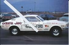 1960s NHRA Drag Racing-1968 Mustang 428 Cobra Jet-Foulger FORD-Tom Stafford