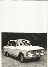 Original Moskvich 412 Foto de prensa folleto conectado
