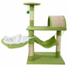 "32"" Cat Tree Tower Condo Sisal Scratcher Furniture Kitten Pet House Hammock Toy"