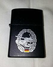 Briquet tempête essence style Zippo - Insigne Bundeswehr armée allemande