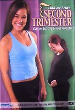 Lindsay Brin's Second Trimester Exercise & Yoga Pgm (New DVD) FreeShip Pregnancy