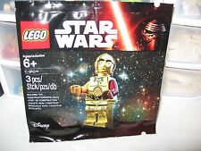 LEGO C3PO RED ARM MINIFIGURE BRAND NEW SEALED POLYBAG
