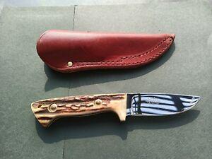 Vintage Linder Messer Solingen Germany made fixed blade hunting knife