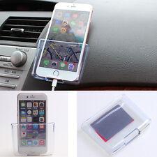 Universal Car Auto Accessories Cell Phone Organizer Storage Box Holder case sd