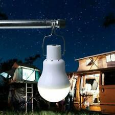 20W Solar Powered LED Light Bulbs Outdoor Indoor Camping Rechargeable Lamps B6W8