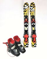Kids Used 70cm Atomic Skis with Salomon Bindings & Nordica Rear Entry Boots