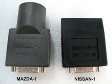 Snap On Scanner MT2500 Solus Ethos Modis Verus Mazda-1 & Nissan-1 OBD1 Adapters