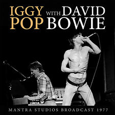 IGGY POP & DAVID BOWIE New Sealed 2017 UNRELEASED LIVE 1977 CONCERT CD