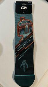 Star Wars Boba Fett Socks Hallmark OSFM 2021 NWT Poly/Cotton Blend