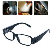 Multi Strength Reading Glasses Eyeglass Spectacle Diopter LED Light Magnifier