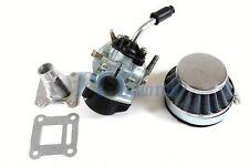 Carburetor 80cc 2 STROKE Engine Motorized Bicycle Pocket Mini Bike H CA42+