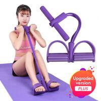 Multi fonction Tension corde forte Fitness résistance bandes Latex pédale unisex