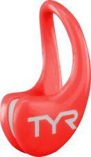 TYR Ergo Swim Clip Nose Clip Red Junior and Adult New Sealed Swimming Swim