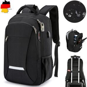 Rucksack 15,6Zoll Herren Schulrucksack Sport Backpack Damen Laptop Tasche DE DHL
