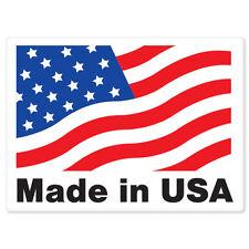 """Made in USA car bumper sticker window decal 5"""" x 4"""""""