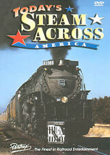 Today's Steam Across America 2 DVD Set Cab Forwards Shays Heislers Mikados UP SP