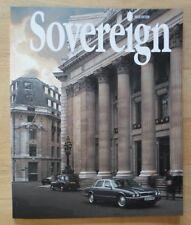 JAGUAR SOVEREIGN orig 1996 International Magazine Brochure - Edition 16