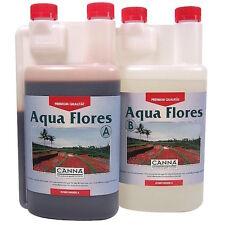 Canna Aqua Flores A+B 2x1 Lt Fertilizzanti per Fioritura-Coltivazione Idroponica