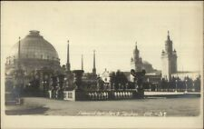 PPIIE Panama Pacific Exposition Horticulture & Education 1915 RPPC