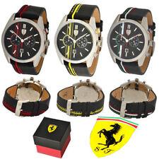Orologi da polso con cinturino in pelle Ferrari