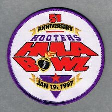 1997 Hula Bowl 51st Annual College Football NCAA Patch