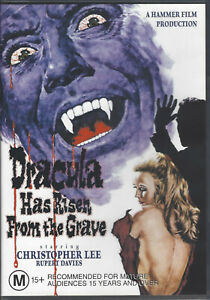 DRACULA HAS RISEN FROM THE GRAVE DVD (2004) R4/PAL *Christopher Lee