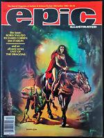 Epic Illustrated #15 Dec 1982 VF/NM Boris Vallejo Jim Starlin