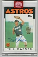 2019 Topps Archives Signature Series Phil Garner Houston Astros 64/90