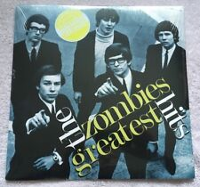 The Zombies Greatest Hits Clear Vinyl White & Gold Splatter Newbury Comics 500