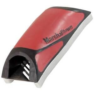 Marshalltown Durasoft Drywall Rasp w/Guide Rails - Keeps Rasp from Slipping Off