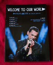 DEPECHE MODE in ITALIA Welcome to our World Libro BOOK Arcana Gahan pop rock