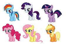 "MY LITTLE PONY 4"" EACH Sticker Set Decal Graphic Wall Decor Art Pinkie Pie"