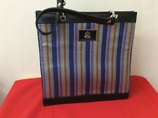 Pangborn Design Striped Purse Handbag. (p4)