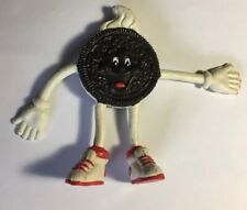 Nabisco Oreo Cookie Bendable Figure Vintage Food Fighters Equivelent