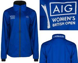 Calvin Klein CK Golf Stealth Waterproof Jacket - Ladies UK8 & UK10 - RRP£100