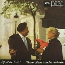 COUNT BASIE - APRIL IN PARIS (BACK TO BLACK)  VINYL LP NEU