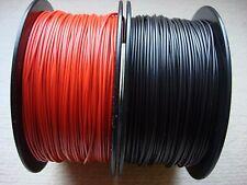 Kabel  Litze Schaltlitze Kupferlitze 200 Meter verzinnt  0,25 mm² rot u.schwarz