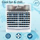 US Portable Mini AC Air Conditioner Personal Unit Cooling Fan Humidifier photo