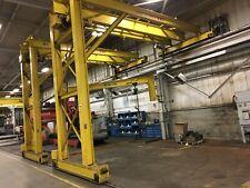 5 Ton Pittsburgh Single Leg Single Girder Gantry Crane Yoder 67227