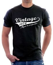 VINTAGE 1975 Aged to perfection funny birthday quality printed t-shirt 9597